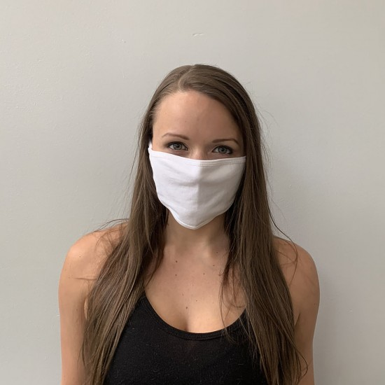 Custom Print Flat Face Mask [Washable]